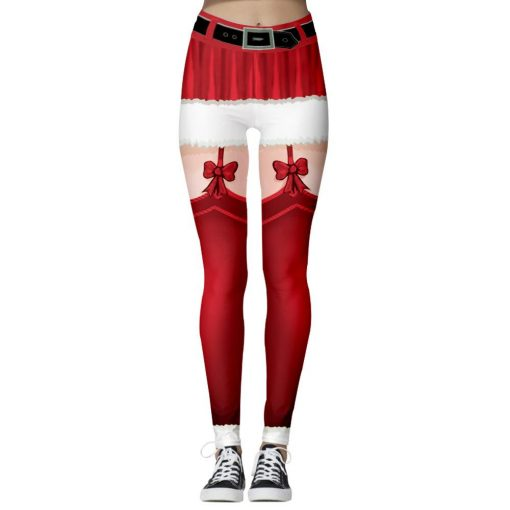 Legging Collant Cheville Red S Red M Red L Red XL