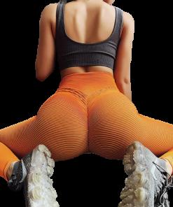 legging sport taille haute femme