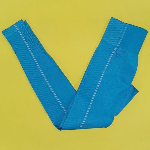 Legging Yoga Pantalon Equitation Blue Pant S Blue Pant M Blue Pant L