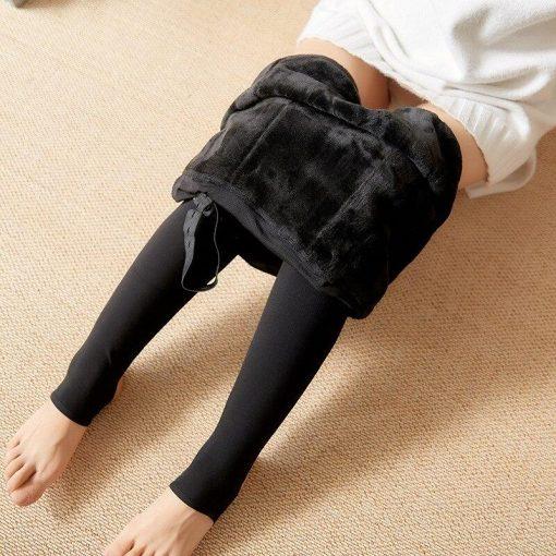 Legging Laine Chaud Grossesse Black XS Black S Black M