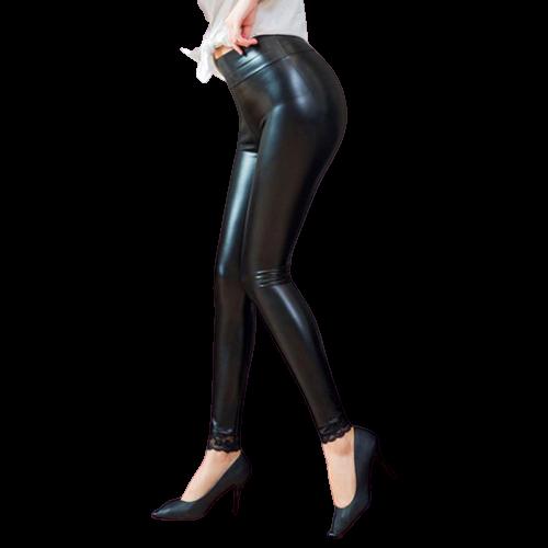 legging femme brillant