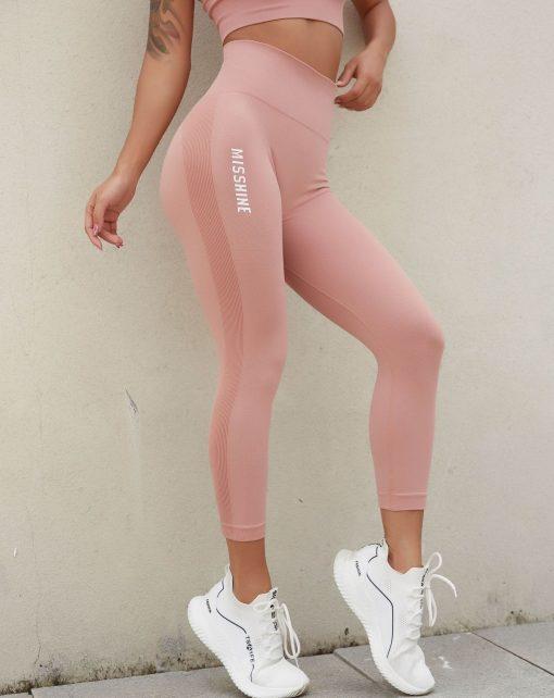 Legging Sport Fantaisie Pink S Pink M Pink L