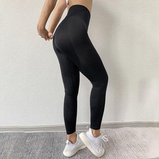 Legging Sport Rayure Black S Black M Black L Black XL