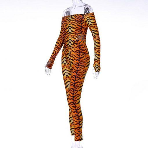 Legging Tigre Blanc
