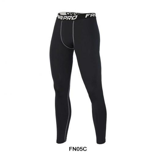 Legging Yoga Fitness Hommes Pantalons FN05C-Black M FN05C-Black L FN05C-Black XL FN05C-Black 2XL FN05C-Black 3XL FN05C-Black 4XL