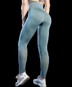 legging yoga taille haute blanc