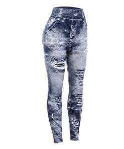 Pantalon Legging Denim