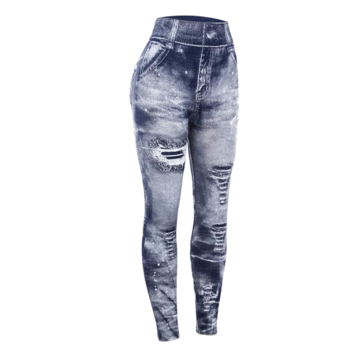 pantalon legging denim