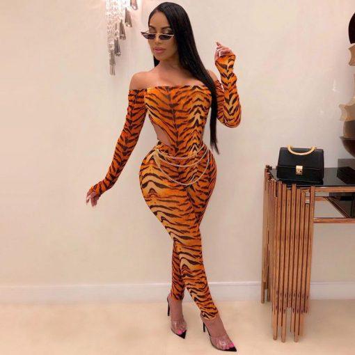 Legging Tigre Blanc Tiger Print S Tiger Print M Tiger Print L