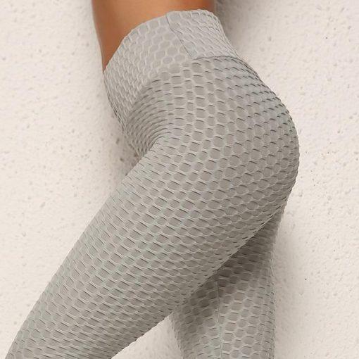 Legging Anti Cellulite Texture Collant Gray S Gray M Gray L Gray XL