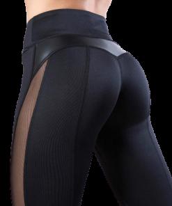 legging femme maille