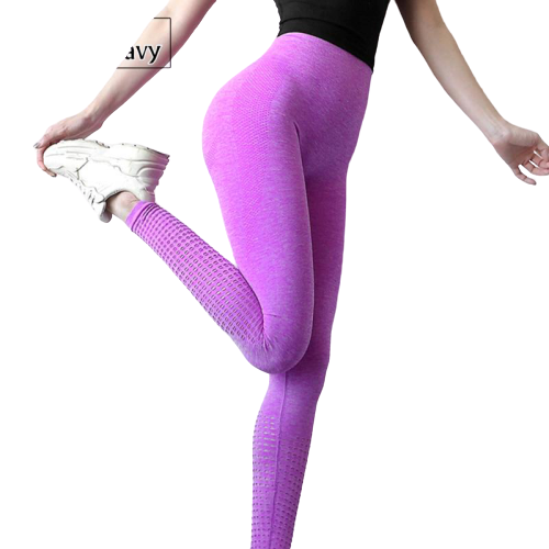 legging yoga bleu