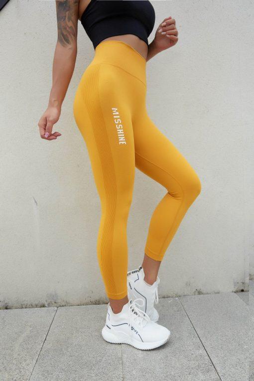 Legging Sport Fantaisie Gold S Gold M Gold L