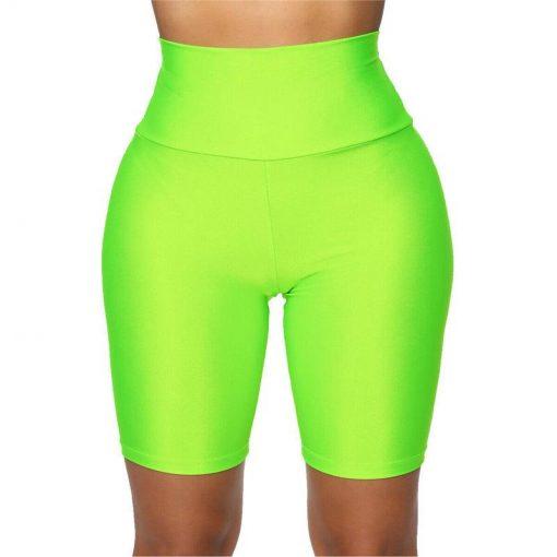Legging Short Femme Green S Green M Green L Green XL