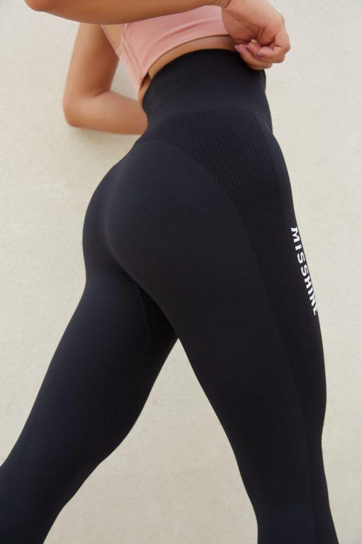 Legging Sport Fantaisie Black S Black M Black L