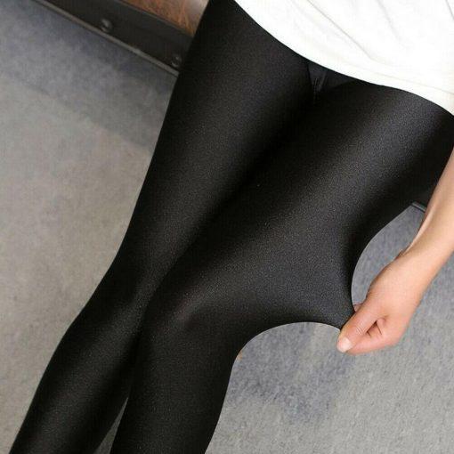 Legging Blanc Brillant