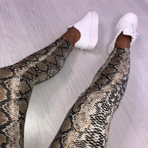 Legging Femme Serpent