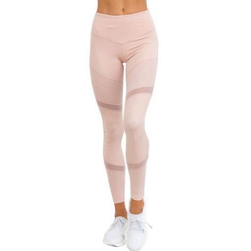 Legging Yoga Fluo Pink S Pink M Pink L Pink XL