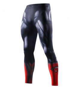 Legging De Sudation Bleu Superman