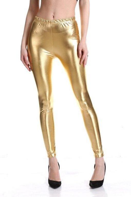Legging Brillant Disco gold M gold L gold XL gold XXL