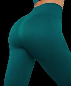 legging yoga fente