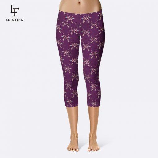 Legging Violet Grande Taille Purple M Purple XL Purple XXXL