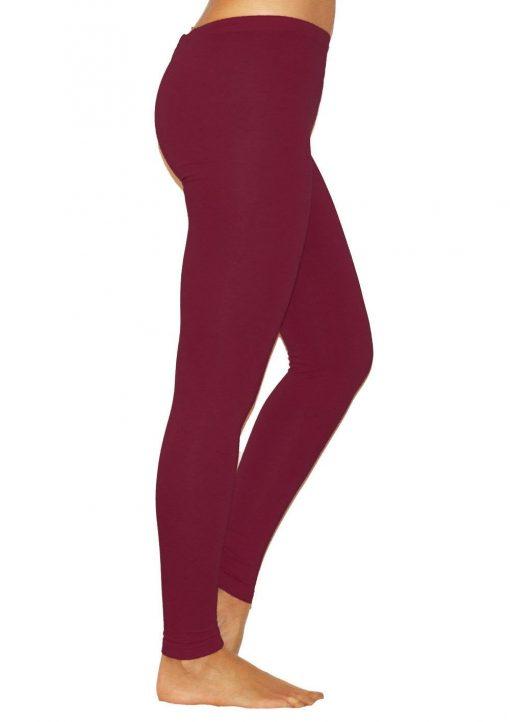 Legging Taille Haute Ultra Burgundy XS Burgundy S Burgundy M Burgundy L Burgundy XL Burgundy XXL Burgundy XXXL Burgundy 4XL