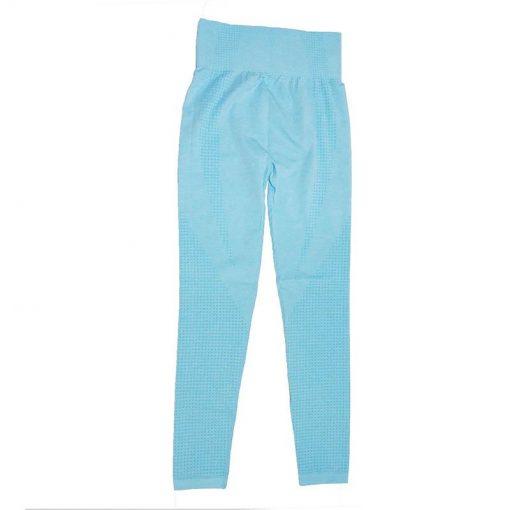 Legging Yoga Coloré Sport 9149 Sky Blue S 9149 Sky Blue M 9149 Sky Blue L