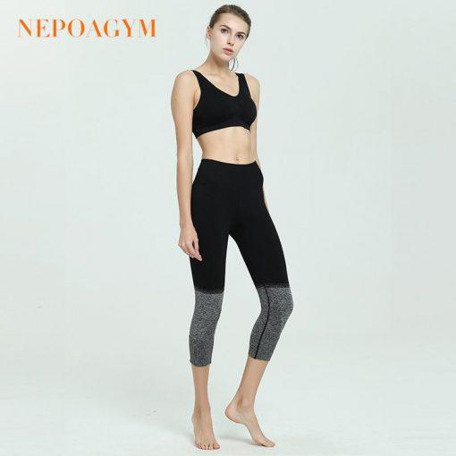 Legging Yoga Fitness Amincissant Black XS Black S Black M