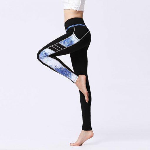 Legging Sport Respirant side blue S side blue M side blue L side blue XL