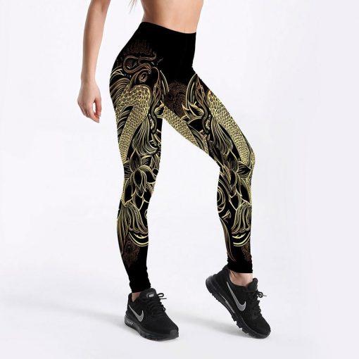 Legging Aztèque Sport Mandala Lgs-4075 S Lgs-4075 M Lgs-4075 L Lgs-4075 XL Lgs-4075 XXL Lgs-4075 XXXL Lgs-4075 4XL