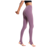legging yoga cuir taille haute