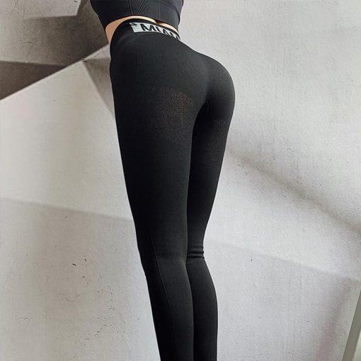 Legging Femme Taille Haute Black S Black M Black L
