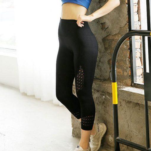 Legging Capri Femme Black S Black M Black L