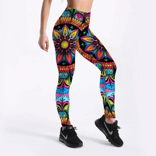 Legging Aztèque Sport Mandala Lgs-4108 S Lgs-4108 M Lgs-4108 L Lgs-4108 XL Lgs-4108 XXL Lgs-4108 XXXL Lgs-4108 4XL