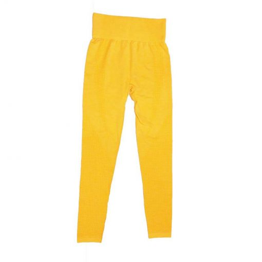 Legging Yoga Coloré Sport 9149 Yellow S 9149 Yellow M 9149 Yellow L