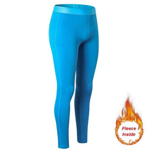 Legging Course Hiver blue Asian size S blue Asian size M blue Asian size L blue Asian size XL blue Asian size XXL