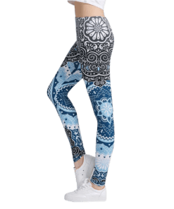 legging azteque fitness pantalon haute