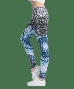 Legging Aztèque Fitness Pantalon Haute