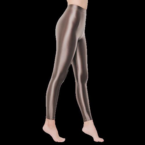 legging sexy taille haute brillant