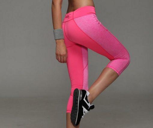 Legging De Compression Sport Pink S Pink M Pink L