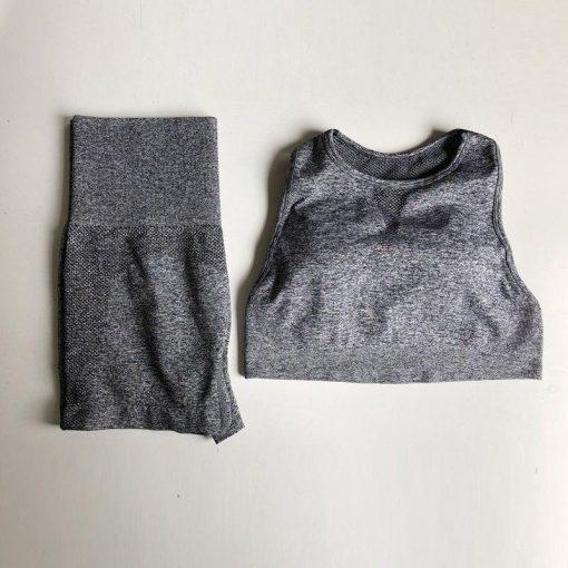 Legging Yoga Court Gray S Gray M Gray L