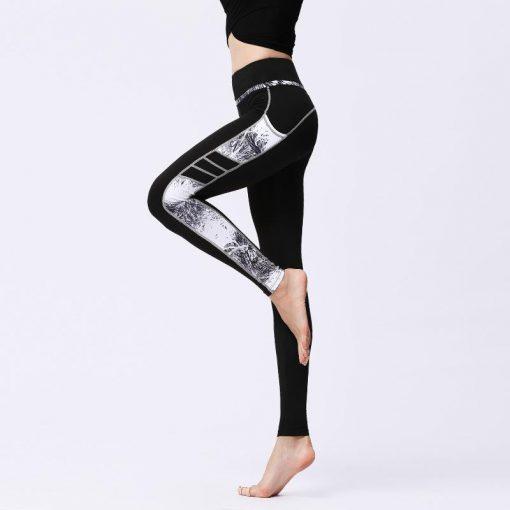 Legging Sport Respirant side gray S side gray M side gray L side gray XL