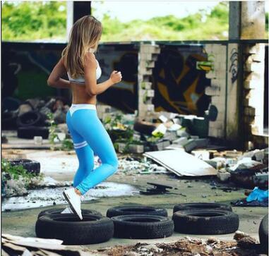Legging Femme Chaud Blue S Blue M Blue L Blue XL