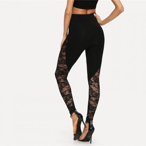 Legging Femme Black S Black M Black L Black XL Black XXL