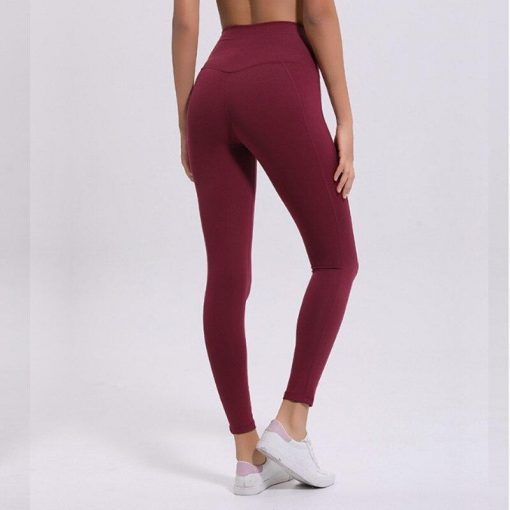 Legging Sport Couleur Red S Red M Red L
