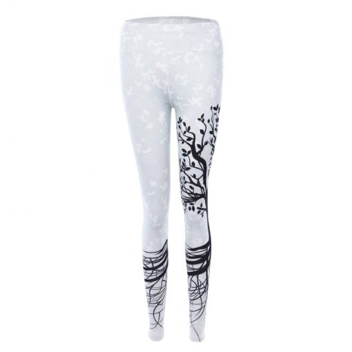 Legging Collant Femme Blanc Branche S Blanc Branche M Blanc Branche L Blanc Branche XL