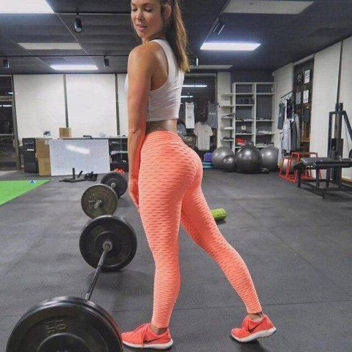 Legging Couleur Sport Orange XS Orange S Orange M Orange L Orange XL