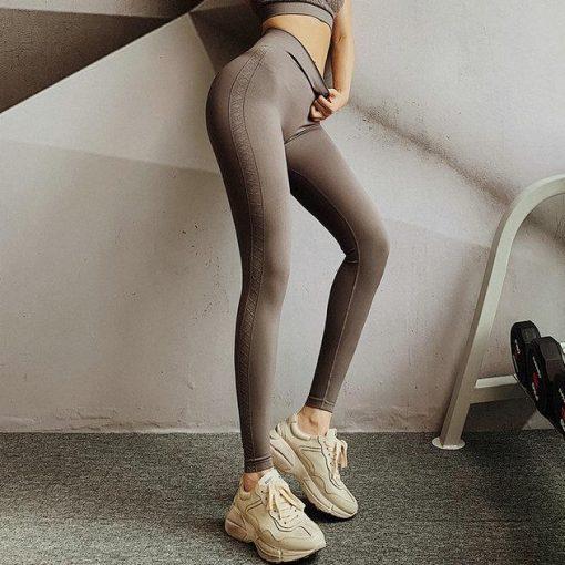 Legging Sport Booty Brown S Brown M Brown L