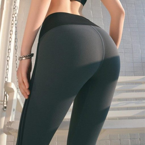 Legging Taille Haute Rayure